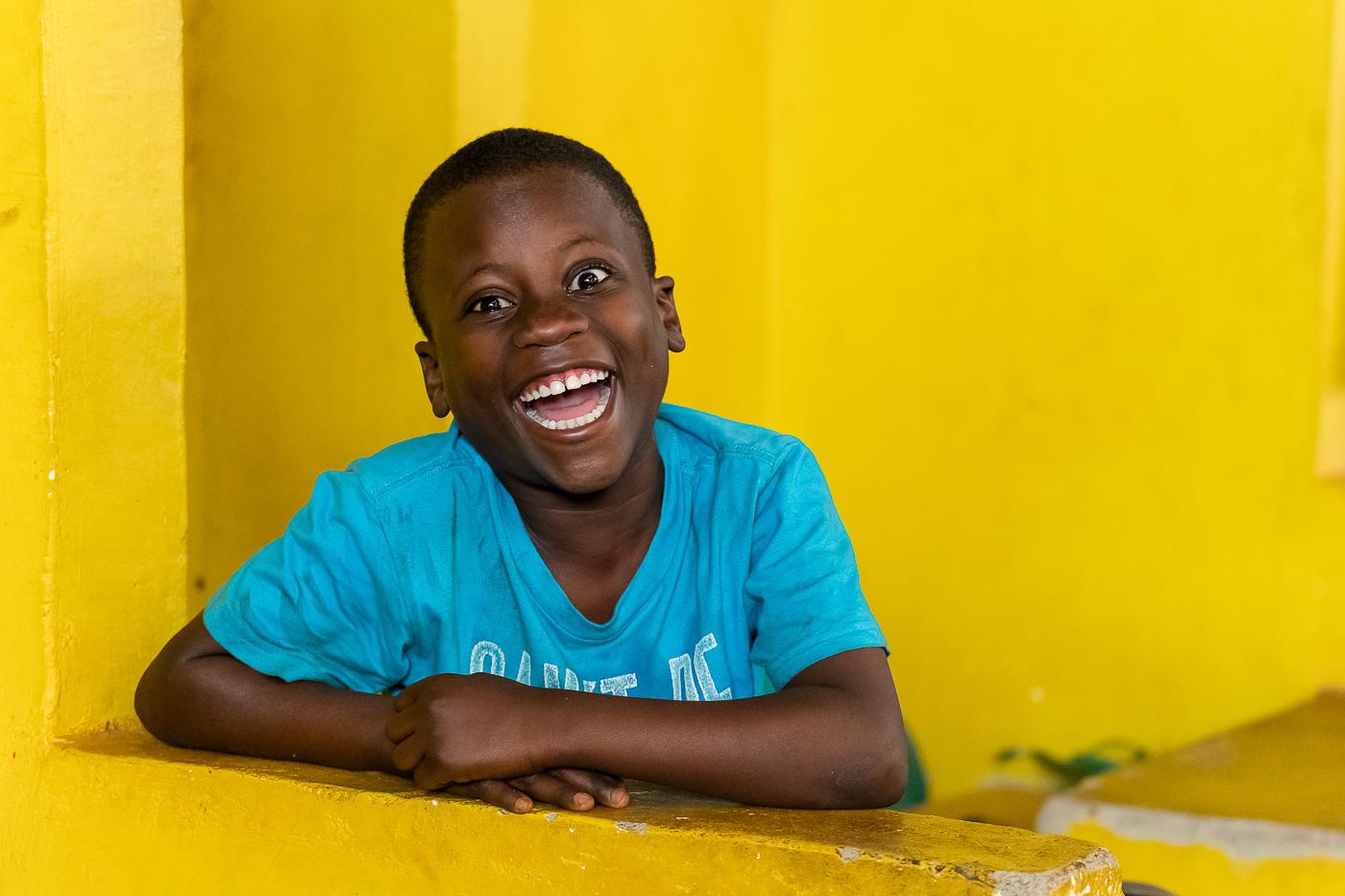 Happiness. Jinja, Uganda