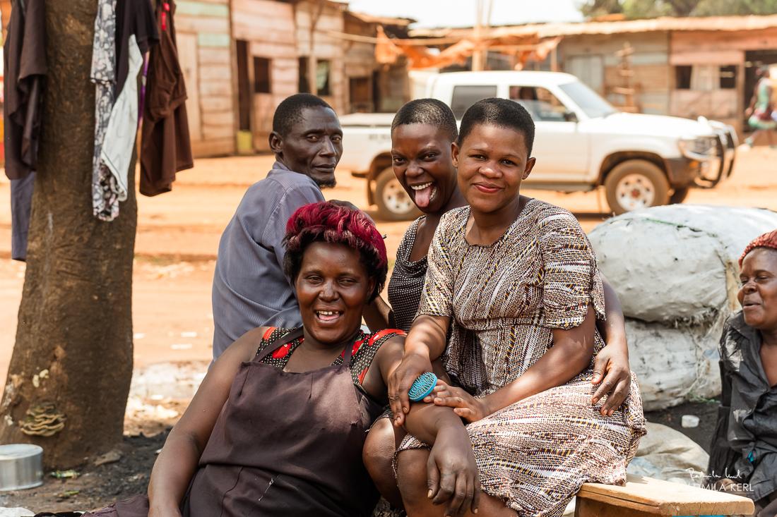Bantu People in Jinja, Uganda